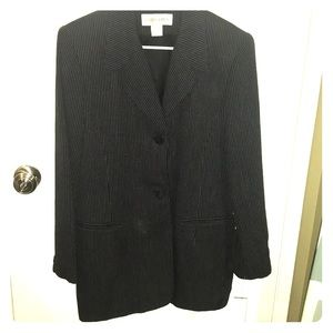 Jones New York pin Stripe blazer size 12